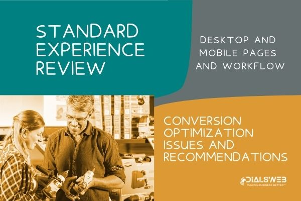 standard experience review report cover